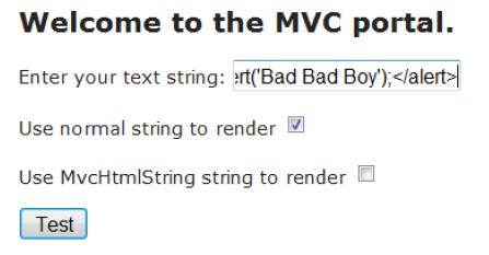 MvcHtmlString Encoding – Random Thoughtz